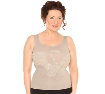 ANAMEE SHAPEWEAR MF Top 3D Spitzen-Druck Glamour Couture
