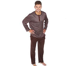 Pyjama Krawatten-Druck