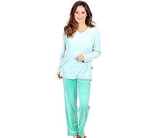 Pyjama Kontrastfarben