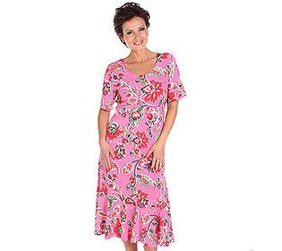Kleid Paisleydruck