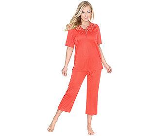 Pyjama 3-D-Stickerei