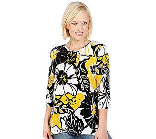 Shirt Blumendruck