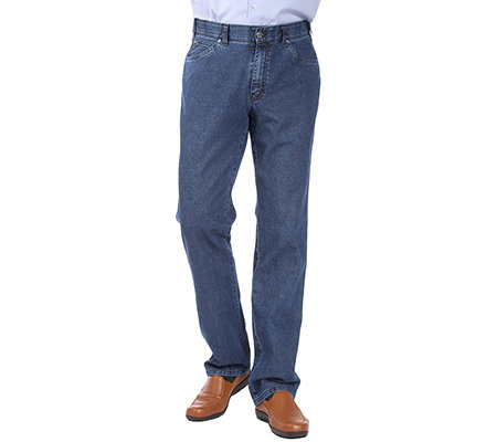 CLUB OF COMFORT Herrenjeans James 5-Pocket-Style Fleckenschutz bügelfrei