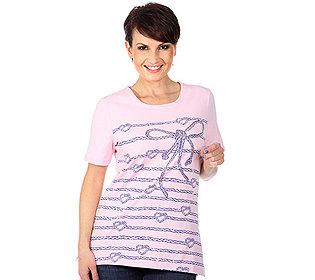 Shirt Kordel-Druck
