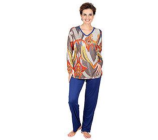Pyjama mit Spitze