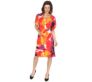 Kleid Rio Flügelärmel