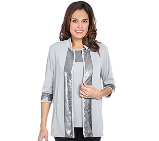 Twinset Top Cardigan