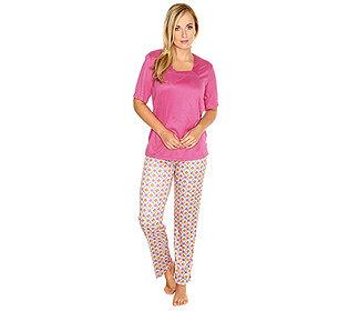 Pyjama Druck & uni