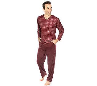 Pyjama V-Ausschnitt