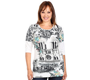 Shirt Kathedralen-Motiv