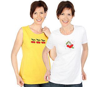 Shirt & Top Kirschmotiv
