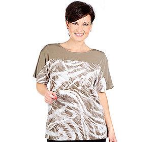 Shirt Struktur-Druck