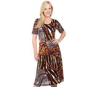 Kleid Animal-Druck