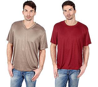 2 Herren-Shirts