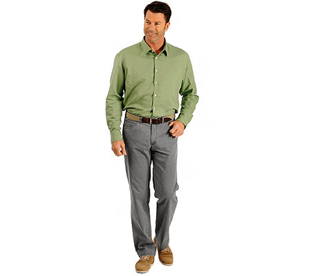 CLUB OF COMFORT Herrenhose Linus Panther Touch Comfort-Bund