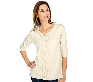 Shirt Rundhalsausschnitt