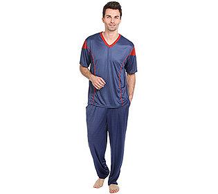 Pyjama Kontrastfarbe