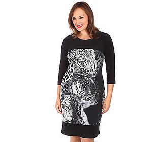 Kleid Tiger-Motiv