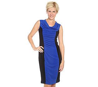 Kleid Stretch Raffdetails