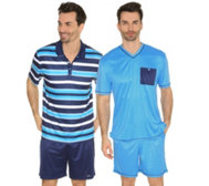 MEN'S TOUCH MF Jersey Interlock Shorty Druck & uni Doppelpack