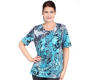 Shirt Paisley-Animaldruck
