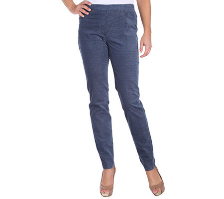 VIA MILANO Jeggings lange Form Komfortbund 4-Pocket Style