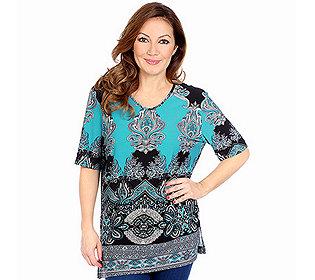 Shirt Paisleydruck