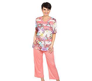Pyjama Blumendruck