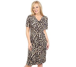 Kleid Leopard-Druck