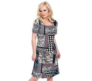 Kleid Fantasie-Druck