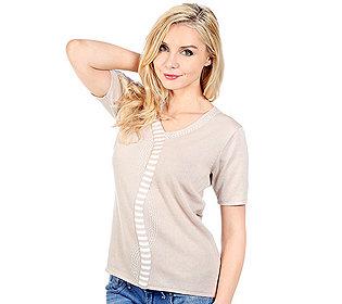 Pullover Streifen-Dekor