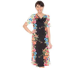 Kleid Blumenmotiv