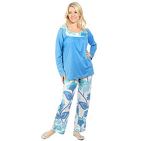 Langarm-Pyjama