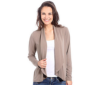 Cardigan Stretch-Crepe