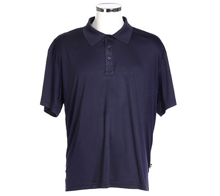 MEN'S TOUCH Shirt, 1/2-Arm Polokragen Knopfleiste