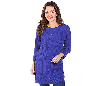Pullover Zopfdetails