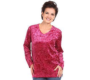 Shirt Rosenprägung