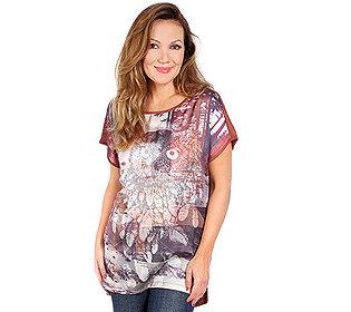 Shirt Eulen-Motiv