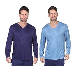 2 Shirts V-Ausschnitt