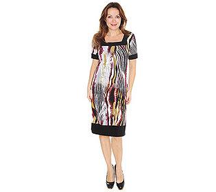 Kleid Zebra-Druck