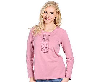 Shirt Rüschendetail