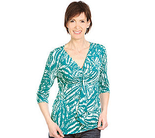 Shirt Batik-Druck