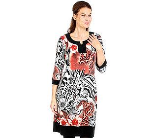 Kleid Animal-Print
