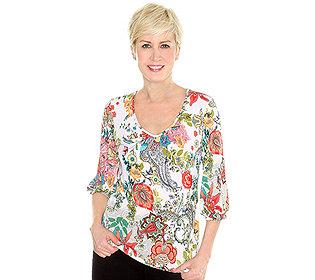 Shirt floraler Druck