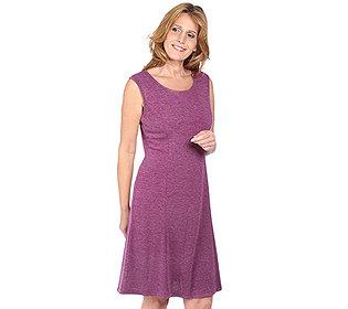 Kleid Melange-Knit