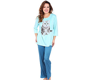 Pyjama Tierdruck