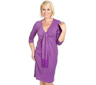 Kleid Schluppe
