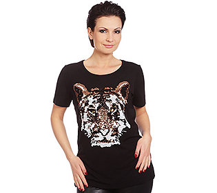 Shirt Tigerkopf