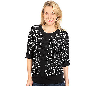 Shirt Giraffen-Print