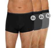 MEN'S TOUCH Mikrofaser Retro-Pants Webgummibund 5er-Pack